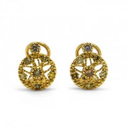 Pendientes Diamantes Fancy
