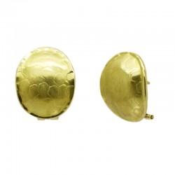 Pendiente Oval Etruria