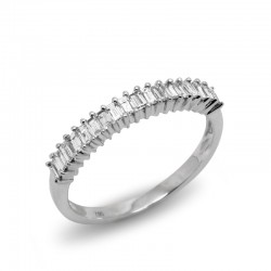 Anillo Baguettes