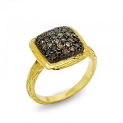 Anillo Diamantes Fancy Etruria