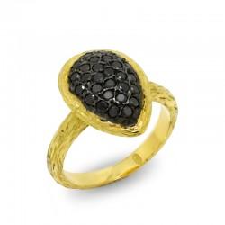 Anillo Diamantes Black Etruria