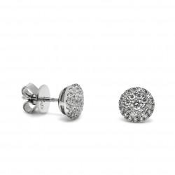 Pendientes Pavé Diamantes