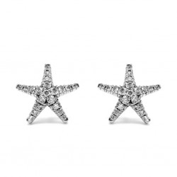 Pendientes Star Diamantes