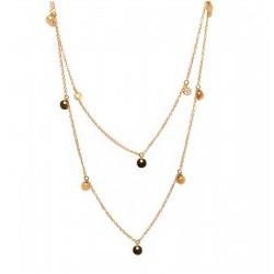 Collar Chatones Diamantes