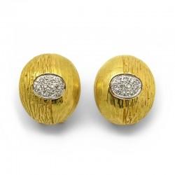 Pendientes Etruscos Diamantes